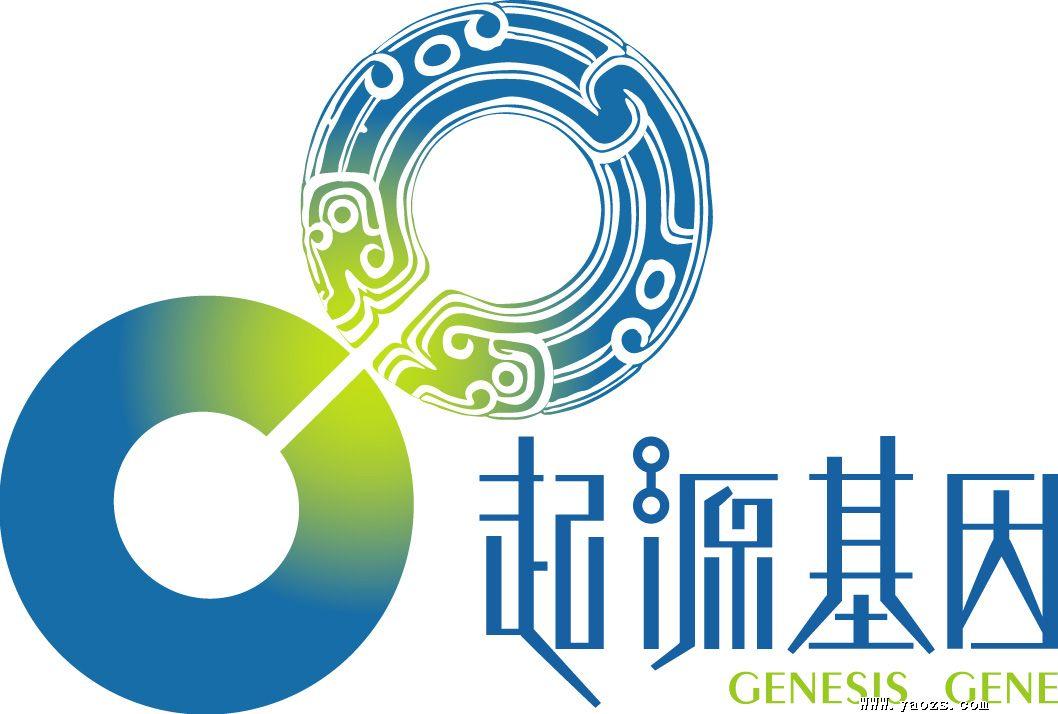 树木基因组合的logo