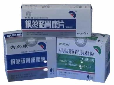 枫蓼肠胃康颗粒、片剂