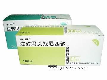 注射用头孢尼西钠