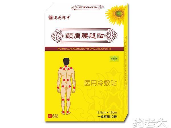 颈肩腰腿贴/外用/贴剂/颈椎/骨科/风湿