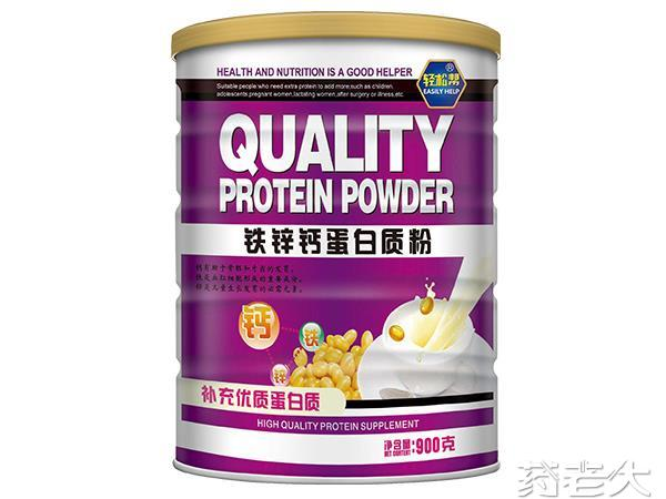 轻松帮铁锌钙蛋白质粉